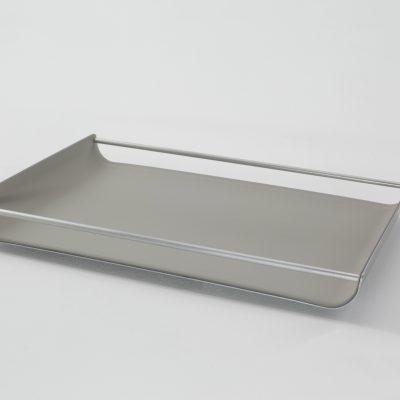 Tablett Milu mit Aluminiumsteg 29x42 cm